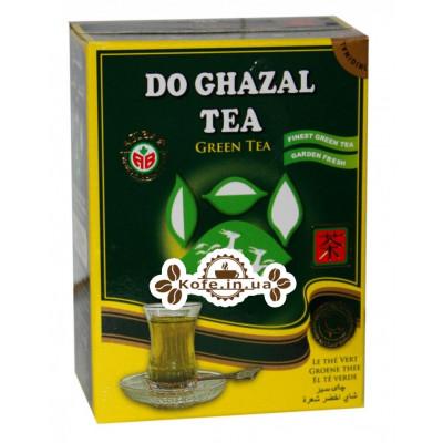 Чай AKBAR Do Ghazal Green Tea 100 г к / п (4796015724395)