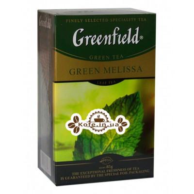 Чай Greenfield Green Melissa Мелісса 85 г к / п (4823096804873)