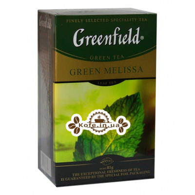 Чай Greenfield Green Melissa Мелисса 85 г к/п (4823096804873)