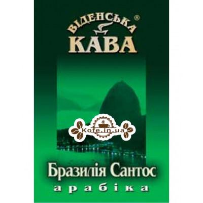 Кава Віденська Кава Арабіка Бразилія Сантос зернова 500 г