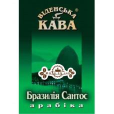 Кава Віденська Кава зелений Арабіка Бразилія Сантос зернова 500 г