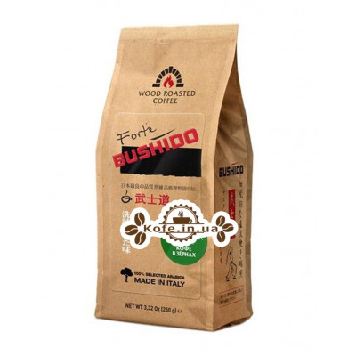Кофе Bushido Forte зерновой 250 г (5060367340091)