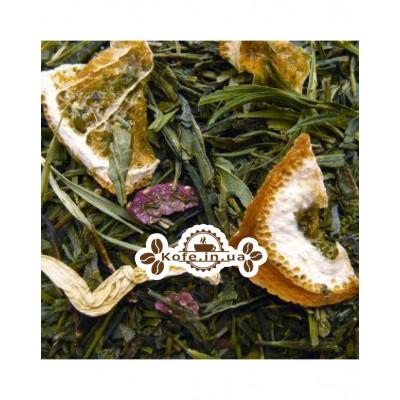 Бамбук-Беррі зелений ароматизований чай Чайна Країна