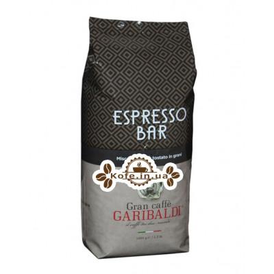 Кофе GARIBALDI Espresso Bar зерновой 1 кг (8003012003351)