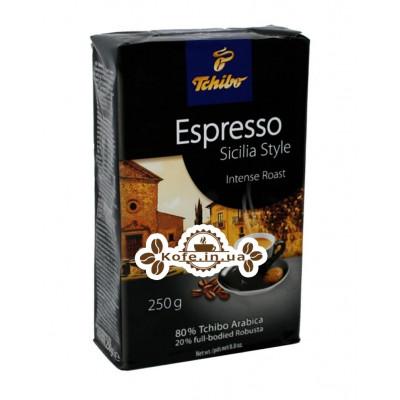 Кава Tchibo Espresso Siсilia Style мелена 250 г
