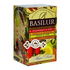 Чай BASILUR Assorted Black Tea Асорті Чорний чай - Чарівні Фрукти 20 х 2 г (4792252001107)