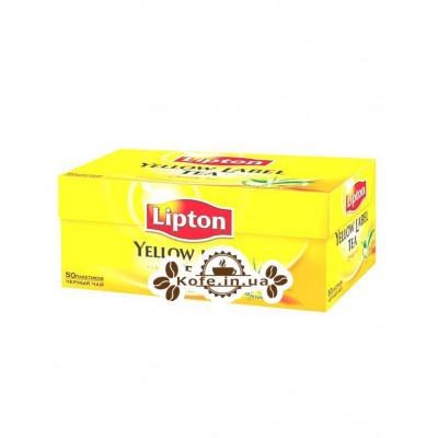 Чай LIPTON Yellow Label Черный 50 x 2 г (4823084200021)