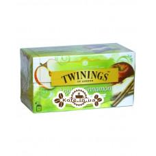 Чай TWININGS Apple Cinnamon Яблоко Корица 25 х 2 г