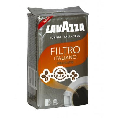 Кава Lavazza Filtro Italiano Delicato мелена 250 г