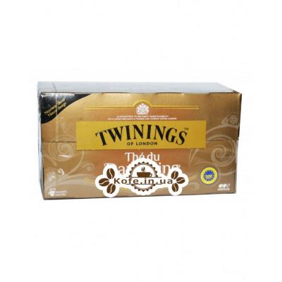 Чай TWININGS The du Darjeeling Дарджилінг 25 х 2 г (5055953902470)
