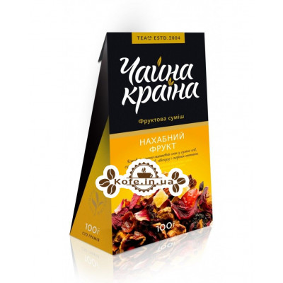 Наглый Фрукт фруктовый чай Чайна Країна 100 г к/п