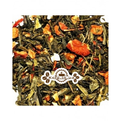 Зелений з Ароматом Грейпфрута зелений ароматизований чай Чайна Країна