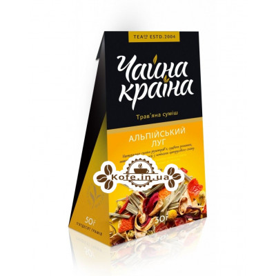 Альпийский Луг травяной чай Чайна Країна 50 г к/п