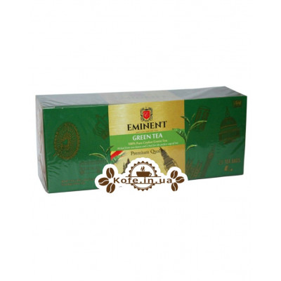 Чай EMINENT Green Tea 25 х 2 г (4796007077102)