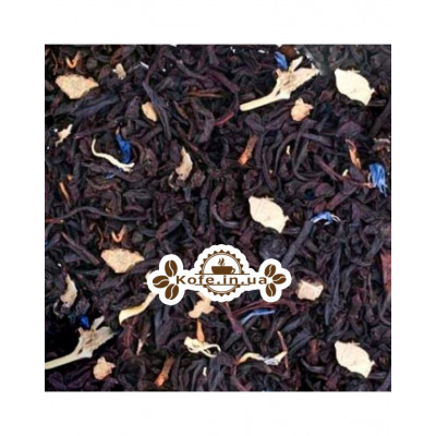 Чорничний з Ароматом Йогурту Преміум чорний ароматизований чай Країна Чаювання 100 г ф / п