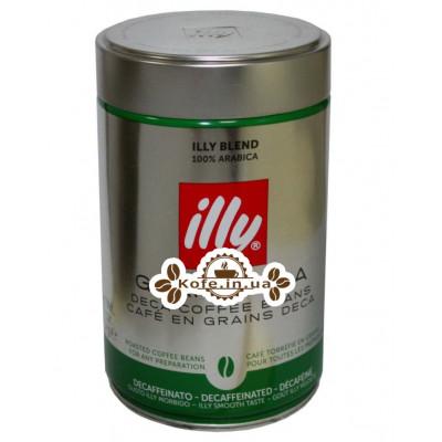 Кава illy Grani Deca без кофеїну зернова 250 г ж / б (8003753900551)