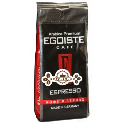 Кава Egoiste Espresso зернова 250 г (4260283250158)