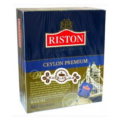 Чай Riston Ceylon Premium Цейлонський Преміальний 100 х 2 г