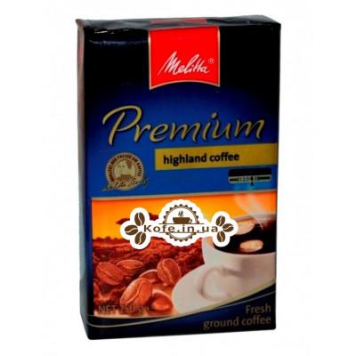 Кава Melitta Premium 100% Arabica мелена 250 г (4002720005736)