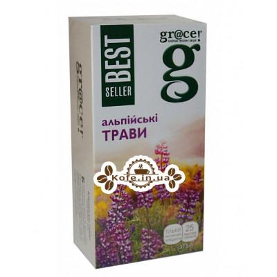 Чай GRACE! Alpine Herbs Альпійські Трави - Бестселер 25 х 1,5 г (5060207692526)