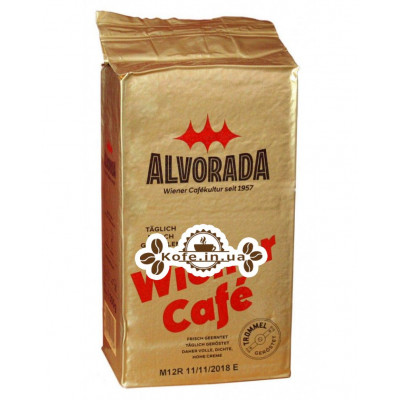 Кава ALVORADA Wiener Kaffee мелена 250 г (9002517149501)