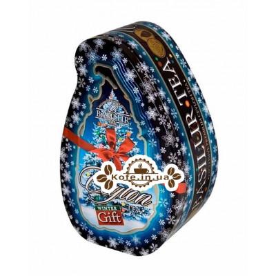Чай BASILUR Winter Gift Зимний Подарок - Чайный Остров 100 г ж/б (4792252200173)