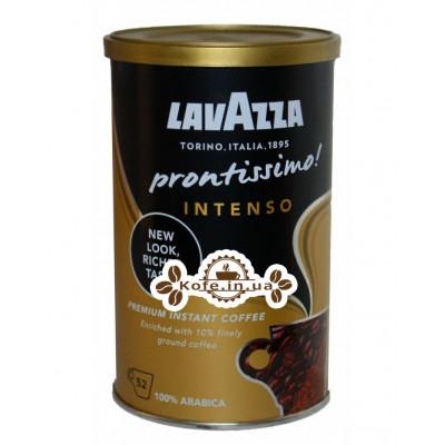 Кофе Lavazza Prontissimo Intenso цельнозерновой растворимый 95 г ж/б (8000070052628)