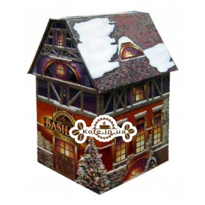 Чай BASILUR Christmas House Різдвяний Будиночок - Святкова 100 г ж / б (4792252100756)