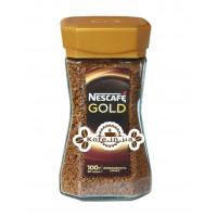 Кава Nescafe Gold розчинна 200 г ст. б.