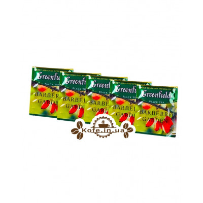 Чай Greenfield Barberry Garden Барбарис 100 х 1,5 г эконом. упаковка