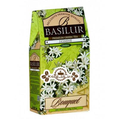 Чай BASILUR Jasmine Жасмин - Букет 100 г к/п (4792252926998)