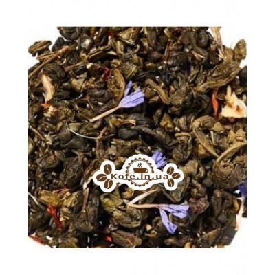 Зелена Равлик з Ароматом Кардамону зелений ароматизований чай Чайна Країна