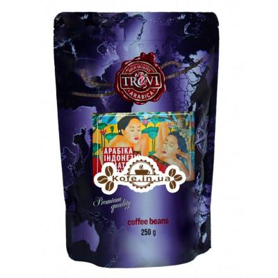 Кава Trevi Арабіка Індонезія Суматра Лінтунг зернова 250 г (4820140050736)