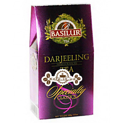 Чай BASILUR Darjeeling Дарджилінг - Обрана Класика 100 г к / п (4792252920712)