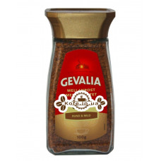 Кофе GEVALIA Mellan Rost Gold растворимый 100 г ст. б. (8711000369920)