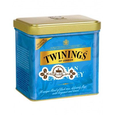Чай TWININGS Russian Earl Grey Русский Эрл Грей 150 г ж/б