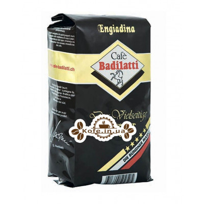 Кава Badilatti Engiadina 500 г зернової