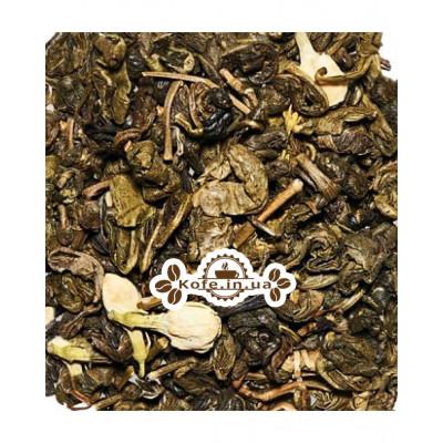 Зелена Равлик з жасмином зелений ароматизований чай Чайна Країна