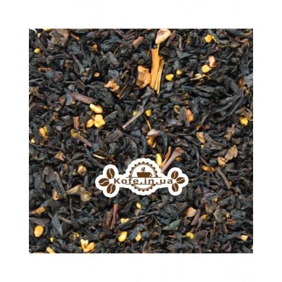 Нуга-Мигдаль чорний ароматизований чай Світ чаю