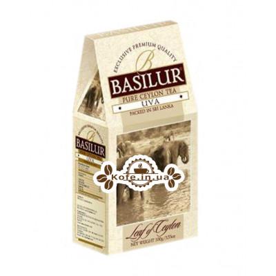 Чай BASILUR Uva Ува - Лист Цейлону 100 г к / п (4792252100060)