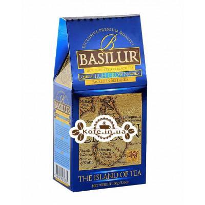 Чай BASILUR High Grown Высокогорный - Чайный Остров 100 г к/п (4792252935365)