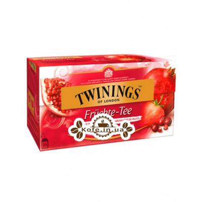 Чай TWININGS Fruit Tea Фруктовий 25 х 2 г (070177258504)
