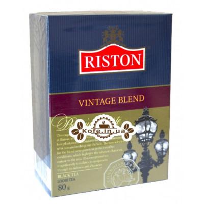 Чай Riston Vintage Blend Вінтейдж Бленд 100 г к / п (4792156003245)