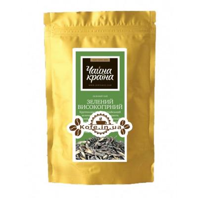 Зелений Високогірний зелений класичний чай Чайна Країна - Єлисейські Поля 100 г ф / п