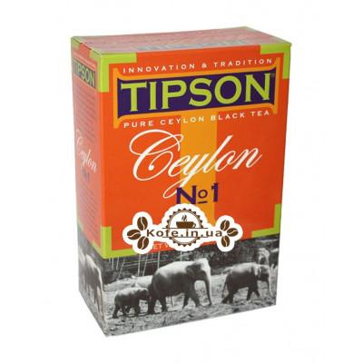 Чай Tipson Ceylon №1 OPA Цейлонський 200 г к / п (4792252501072)