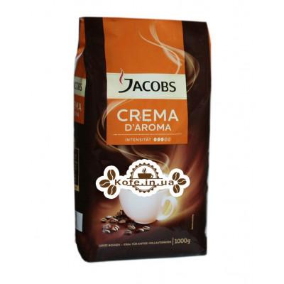 Кава Jacobs Crema D'Aroma зернова 1 кг