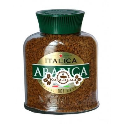 Кофе ITALICA Arabica deLuxe растворимый 100 г ст. б. (4813785002598)