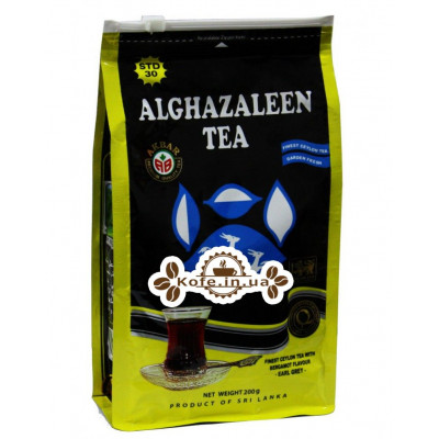 Чай AKBAR Do Ghazal Super Ceylon Earl Grey Tea 200 г економ. пак. (4796015722704)