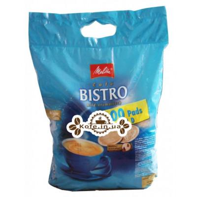 Кава Melitta Bistro Mild-Aromatisch в монодозах (чалдах, таблетках) 100 х 7 г (4002720004111)