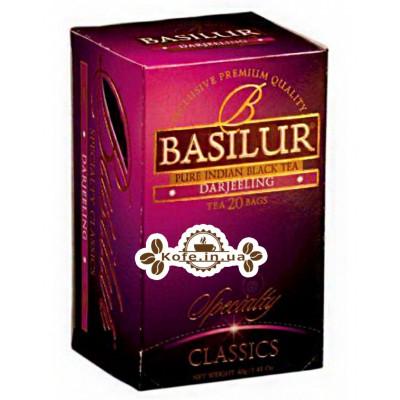 Чай BASILUR Darjeeling Дарджилінг - Обрана Класика 20 х 2 г (4792252000506)
